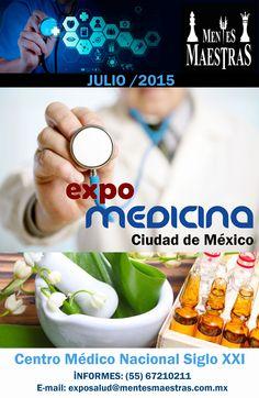 EXPO MEDICINA CIUDAD DE MÉXICO 2015 BASES DE PARTICIPACION | MENTES MAESTRAS