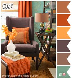 Inspire Sweetness!: Cozy - Color Palette