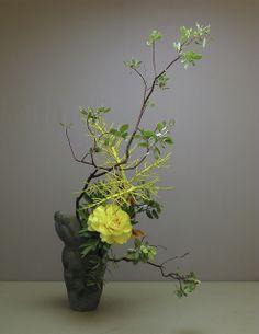 冷夜. Ikebana