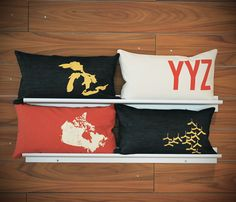 I'm feeling truly Canadian today- check out Nicole Tarasick designs for your little bit of the great white north...