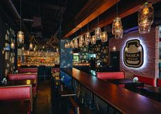 """Фан-бар """"БАНКА"""" - Лучший интерьер ресторана, кафе или бара   PINWIN - конкурсы для архитекторов, дизайнеров, декораторов"""