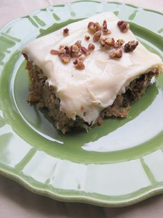 a hint of honey: Pineapple Zucchini Sheet Cake with Cream Cheese Frosting