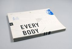 EVERYBODY / NOBODY, FTPT Studio - A limited edition, silkscreened newspaper offering a discourse on   the concept of systems thinking. Inspired by Buckminster Fuller's   theories, this project disseminates how systems thinking can reveal   the interconnections between individuals and society, society and   nature and nature and our existence.
