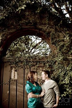 St. Augustine Engagement Session by Lanier Photography.