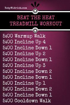 60 min Hilly Beat the Heat Treadmill Workout with decline Treadmill Routine, Running On Treadmill, Treadmill Workouts, Swim Workouts, Body Workouts, Fitness Workouts, Love Fitness, Fitness Diet, Fitness Motivation