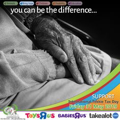 You CAN be the DIFFERENCE!! Support the BRING HOPE sector on International Tekkie Tax Day - Friday, 31 May 2019. Get your Tekkie Tax Gear at www.tekkietax.org, www.takealot.com or  www.toysrus.co.za. Contact us on 012 663 8181 – reception@tekkietax.org for more information.  Thank you: RietteC Photography & Audio visual production house  #tekkietax #mezzzmerize #tekkietize #lovingtekkies #projectk4k #TekkieTaxDay South African Celebrities, Long Term Care Insurance, Tax Day, Disability, Grateful, How To Find Out, Reception, Wings, Audio