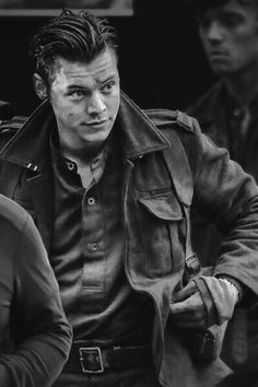 Harry on the set of dunkirk - 2016