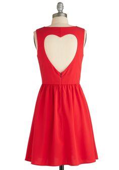 Heart on Your Sleeveless Dress