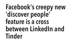 #facebook #linkedin