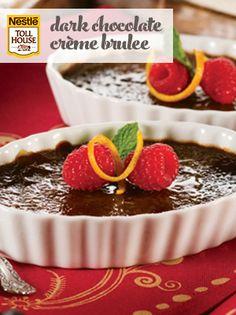 Dark Chocolate Crème Brulee