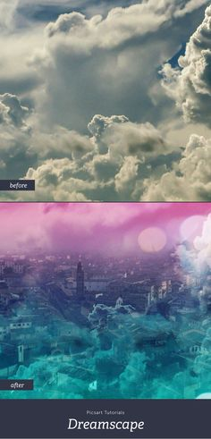 Learn how to create a magical ombre dreamscape using just your phone, no Photoshop needed!