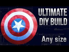 Make a Captain America Shield - Any Size DIY Tutorial - broh4580@rscloud.ca - Rainbow District School Board Mail