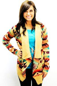 tribal sweaters for hunan winter survival. warm and happy colors.