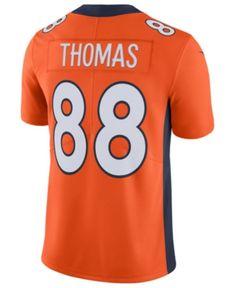 Nike Men s Demaryius Thomas Denver Broncos Vapor Untouchable Limited Jersey  - Orange S 7dcd02c83