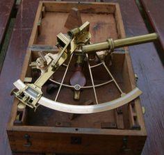 French Antique sextant LORIEUX HURLIMANN