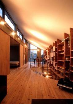 本好きなら参考にしたい読書家が建てた本棚の家まとめ - NAVER まとめ