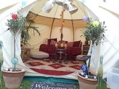 Think camping means mud on your shoes and lumps in your back? Think again: check out our luxurious and cool camping tents in our photo gallery. Cheap Camping Tents, Cool Tents, Hiking Tent, Backpacking Tent, A Frame Tent, Large Tent, Outdoor Fun, Outdoor Decor, Festival Camping