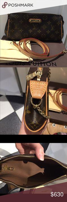 Authentic Louis Vuitton Eva crossbody 💯 authentic Eva crossbody. I m great  condition. b4afcb72d4706
