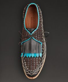 Shop the men's shoes collection from Burberry featuring sartorial leather brogues, trainers, ankle boots and runway-inspired designs Leather Brogues, Leather Moccasins, Fashion Mode, Fashion Shoes, Mens Fashion, Men Dress, Dress Shoes, Timex Watches, Leather Weaving