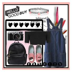 """""""xoxo"""" by ainzme ❤ liked on Polyvore featuring Chateau d'Ax, Dsquared2, Topshop, Chiara Ferragni and Monsoon"""