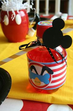 Mickey Mouse Clubhouse Party via Kara's Party Ideas #MickeyMouse #MinnieMouse #PartyIdeas