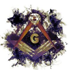 Painting - Freemason, Masonic, Symbols by Esoterica Art Agency , Masonic Signs, Masonic Art, Masonic Symbols, Prince Hall Mason, Fred, Eastern Star, Freemasonry, Occult, Eye Candy