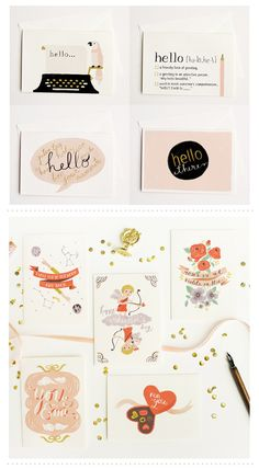 quill & fox cards