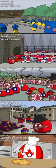 역사상 끔찍했던 사건들