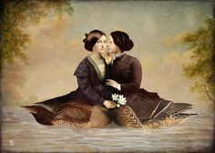 Christian Schloe, On the Lake, arte digitale