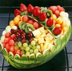 watermelon sculptures - Google Search