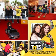 Less than a month to go… have you blocked your dates to the one stop that can satisfy the need for #thrill, #action, #innovation and unadulterated fun? For more details log on to www.bigboystoysuae.com