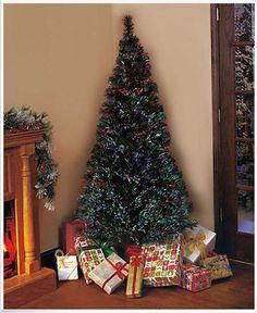 Colorful LED Fiber Optic Nightlight Christmas Tree Lamp ...