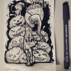 Happy Halloween  / By Celson KIsler - Kisler Art Stock