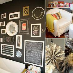 Nursery With Chalkboard Gallery Wall!
