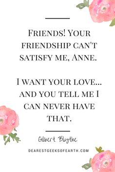 10 reasons we'll always love Gilbert Blythe. | Dearest Geeks of Earth