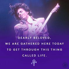 RIP Prince... A genuine legend.