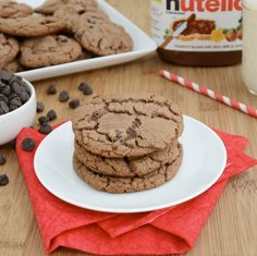 Nutella Chocolate Chip Cookies: 3ww+ pts per cookie (these are crazy good!)