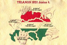 Trianon: It was realistic 100 years ago that Hungary disappears from the maps Hungary History, Beyond The Border, Central And Eastern Europe, Tomorrow Is Another Day, Hungarian Embroidery, Austro Hungarian, World War One, Historical Maps, Budapest Hungary