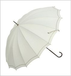 Want to add a little style to your life? This umbrella is sure to do the trick! Our design features your choice of green, ivory, navy, or pink accented by a simple, but stunning thin chain border. Rain umbrellas like this are fantastic for the autumn.