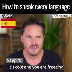 3 steps to every language