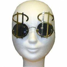Bril met dollar