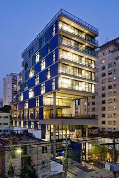 Edifício João Moura em São Paulo, 2010, projeto Nitsche Arquitetos Associados