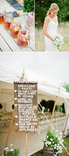 A Contemporary And Modern Garden Marquee Wedding With A Green And White Colour Scheme And A Stephanie Allin Dress And Jimmy Choos With Photography By Dominique Bader. 0008