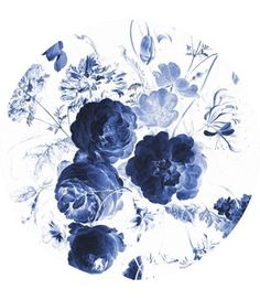 blue flower wallpaper KEK Behangcirkel Royal Blue Flowers I Gratis +Direct geleverd! Blue Roses Wallpaper, Fish Wallpaper, Photo Wallpaper, Pattern Wallpaper, Blue Wallpapers, Pretty Wallpapers, Flower Aesthetic, Blue Aesthetic, Amsterdam Wallpaper