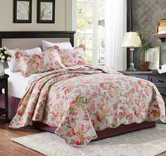 Botanica Queen to King Bed Coverlet Set - Shop