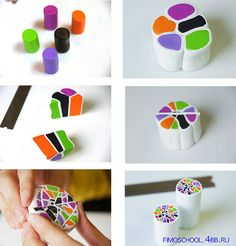 Polymer Clay  Tutorials by saranxelana, via Flickr