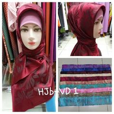 bahan : sutra silk harga Rp. 80.000 http://hijabnew.com