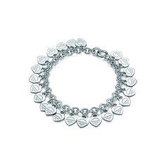 Return to Tiffany® multi heart tag bracelet in sterling silver, medium. My next piece!
