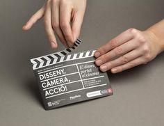 Print and Brand Identity by Lo Siento Studio for Disseny, Càmera, Acció!