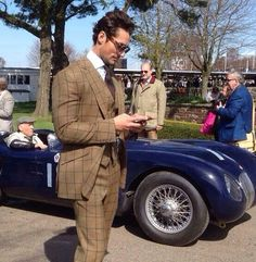 David Gandy en la 72MM Goodwood Race. 29/3/2014.